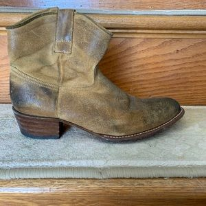 Frye suede boots size 10 M